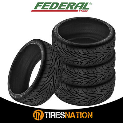 4 Federal SS595 P20540R17 All Season Tires
