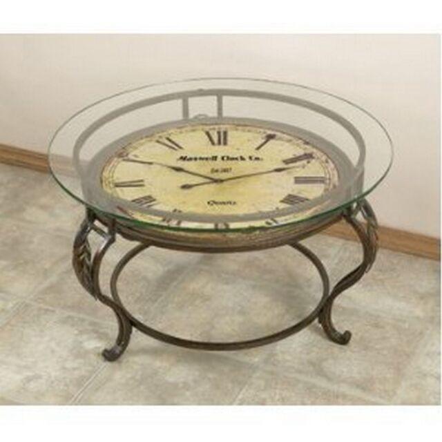 aspire coffee table with clock 75648   ebay