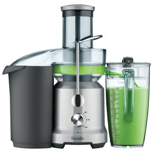 Breville Juice Fountain Centrifugal Juicer -NEW IN BOX BJE430SIL