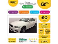 BMW 320 2.0 auto 2010.5MY i M Sport FROM £67 PER WEEK !