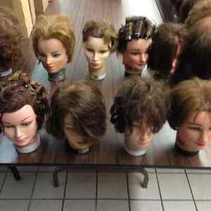 Mannequin heads for Halloween
