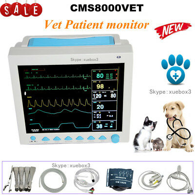 Vet Veterinary Patient Monitor Multiparameter Icu Pet Machine Big Screen Contec
