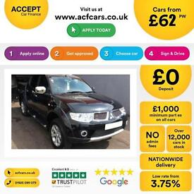 Mitsubishi L200 2.5DI-D CR ( EU V ) 4WD LB auto Barbarian FROM £62 PER WEEK