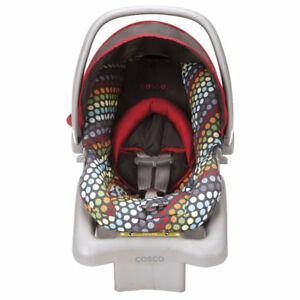 Cosco Rainbow Dots Light 'N Comfy Infant Car Seat, New