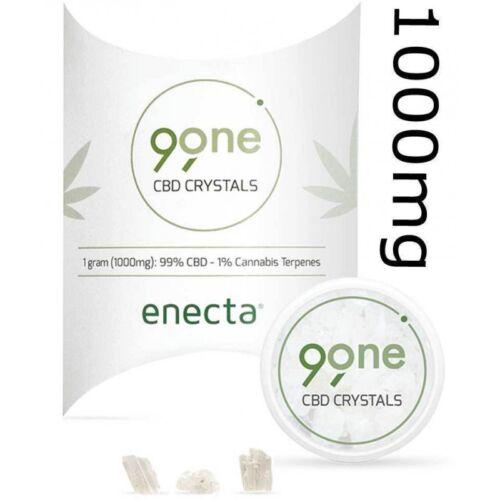 *Enecta Hanföl Kristalle reinste Form 1000 mg über 99% plus Terpene 100% Bio*