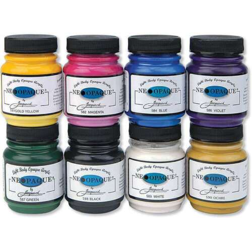 Jacquard Neopaque Acrylic Fabric Paint 2.25oz ALL COLORS NEW