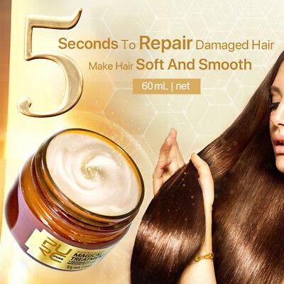 PURC Magical treatment mask 5 seconds Repairs damage restore soft hair 60ml New