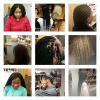 African hair stylist, sales of wigs, hair extensions & more