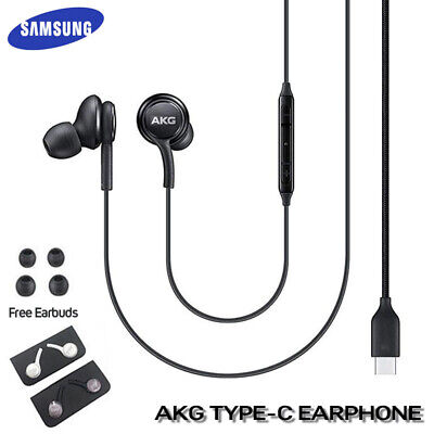 OEM Samsung Galaxy Note 10+ Plus AKG Stereo Earphones Earbuds Type C Headphone