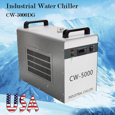CW-5000DG Industrial Water Chiller 6L Tank Temperature CNC/Laser Engraver -