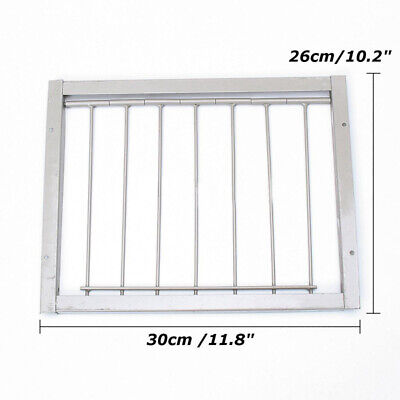 1xDoor Bob Wires Bars On Frame Entrance Tumbler For Racing Pigeon Loft Bird |