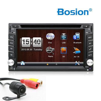Doppel 2 Din Autoradio NAVI DVD Player GPS Navigation Bluetooth USB RDS TV SD EQ