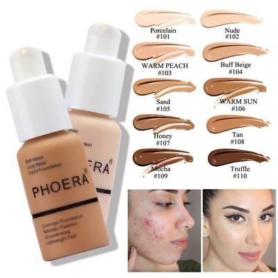 Liquid Make-up Concealer Full Coverage Long Lasting Face Cream Foundation 2018 - Liquid Make-up