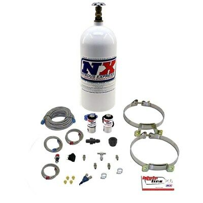 (Nitrous Express ML2000 - MAINLINE EFI SINGLE NOZZLE  SYSTEM W/ 10LB BOTTLE)