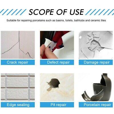 Repair Kit For Crack Chip Ceramic Floor Repair Kit Ceramic Repair Paste 30g Drill Bits