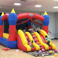 BOUNCY CASTLE/HOUSE  and OBSTACLE COURSES