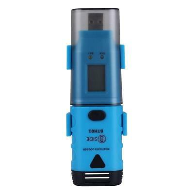 Bside Bth01 Waterproof Digital Usb Two-channel Temperature Humidity Data Logger