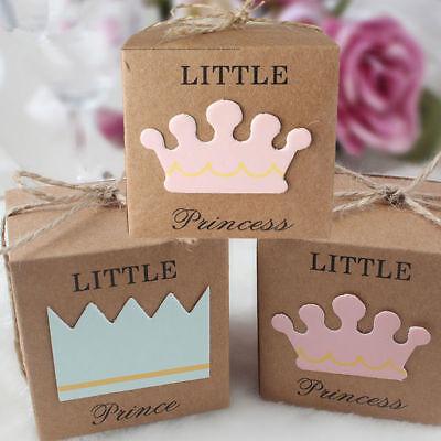 ndy Schachtel Geschenke Box Prinz Prinzessin Hochzeit Party (Baby Candy)