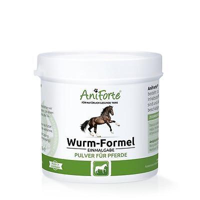 AniForte ® Wurmformel biologische Wurmkur Entwurmung für Pferde 100 g Einmalgabe