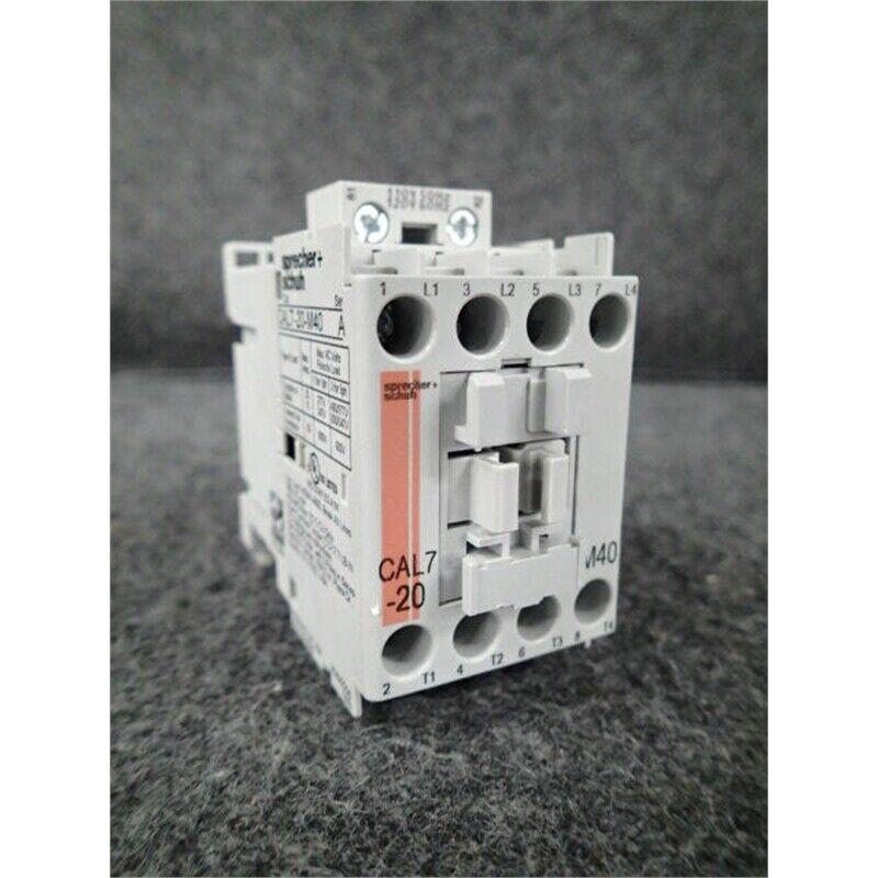 Sprecher + Schuh CAL7-20-M40-120 Contactor, 120V, 20A, 4-Pole