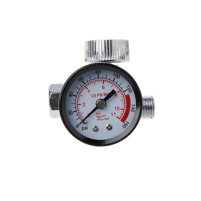 New Dial 14 Pneumatic Air Control Compressor Pressure Gauge Regulator Valve