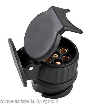 KFZ Kurz Mini Adapter von 13-polig (Fahrzeug) auf 7-polig (Anhänger) PKW 343516