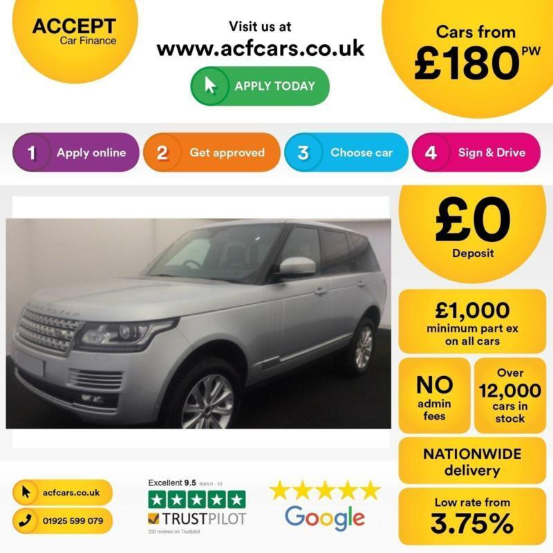 Land Rover Range Rover Vogue SE FROM £180 PER WEEK!
