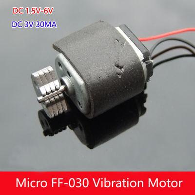 030 Dc Motor 1.5v-6v 3v 5v Mini Mute Vibrating Vibrator Toy Model Massager Diy