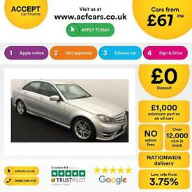 Mercedes-Benz C220 FROM £67 PER WEEK!