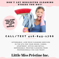 WE PROVIDE SAME DAY CLEANING SERVICE - CALL 416-845-1766