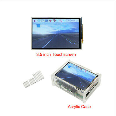 3.5 320480 Touch Screen Lcd Display Board W Case Hearsink For Raspberry Pi