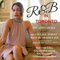 R&B IN TORONTO SATURDAYS | ONE LOFT LOUNGE | EVERY SATURDAY