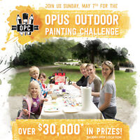 Opus Outdoor Painting Challenge 2017 - North Vancouver