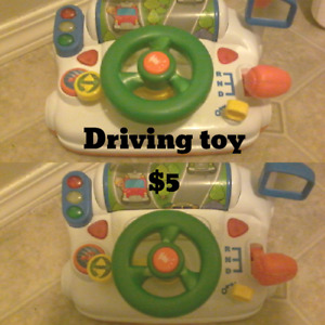 Different baby toys
