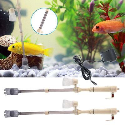 Elektrische Aquarium Staubsauger Fish Tank Reiniger Kiesreiniger Wasserwechsler