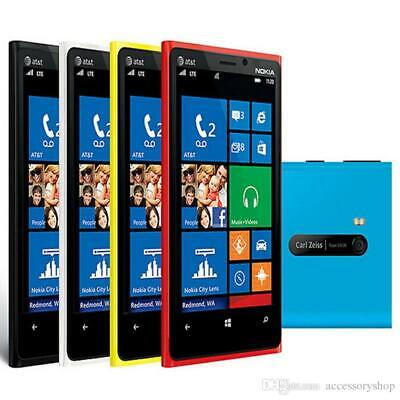 Nokia Lumia 920 Windows 8 - AT&T GSM Global Unlocked Black Blue White Red - Good