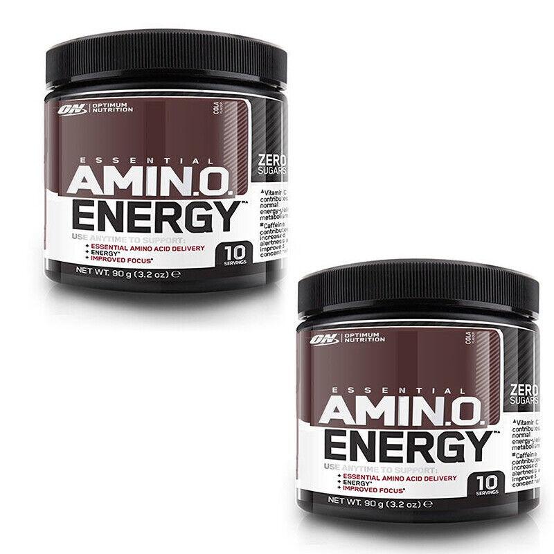 Optimum Nutrition Amino Energy Powder 180g - 20 Servings Pre
