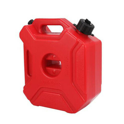 5l1.3 Gallon Red Motorcycle Gas Can Oil Container Fuel-jugs W Lock Mount Kit