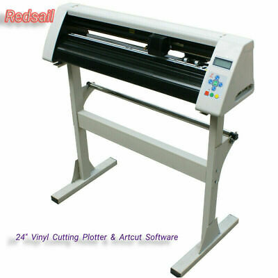 New Redsail 24 Cutting Plotter Vinyl Sticker Cutter With Stand Artcut Software