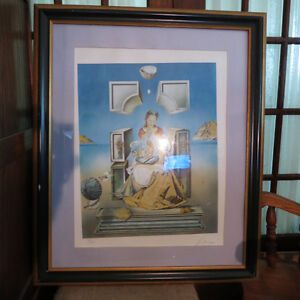Salvador Dali The Madonna of Port Lligat Signed Lithograph #ed Kitchener / Waterloo Kitchener Area image 1