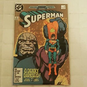 Superman #3. Volume 2.(Darkseid key issue)