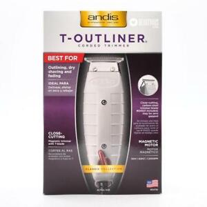 Andis [04710] T-Outliner Trimmer for Salon, Barber, Hair Cut, Gray Brand New In Box