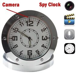 HD SPY Hidden Video Camera Table Clock Motion Detection Mini Cam Video Recorder