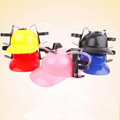 Beer Guzzler Helmet Drinking Hat, Party Novelty Gag Gift NEW!