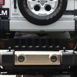 2014 jeep wrangler front and back silver bumper cover for sale.