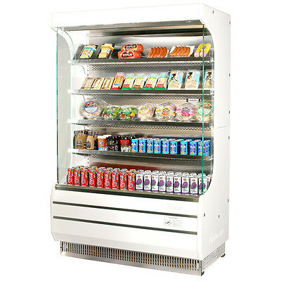 Turbo Air 50 Open Display Case Refrigerated Merchandiser Tom-50