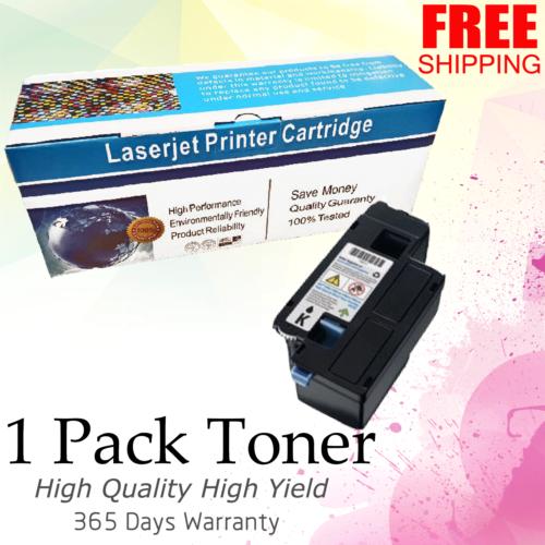 1 PACK Cyan Color Toner For Dell C1660 C1660w C1600cn C1660dn C1660dnw C1660cnw