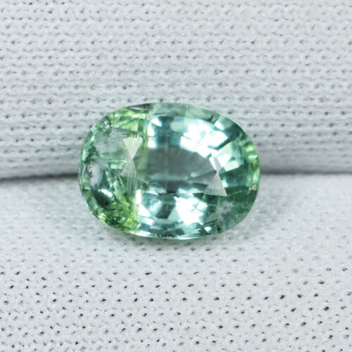"""1.07 ct TOP LUSTOURS  """"PLEA GREEN COLOR""""  NATURAL ELBITE TOURMALINE See Vdo RC"""