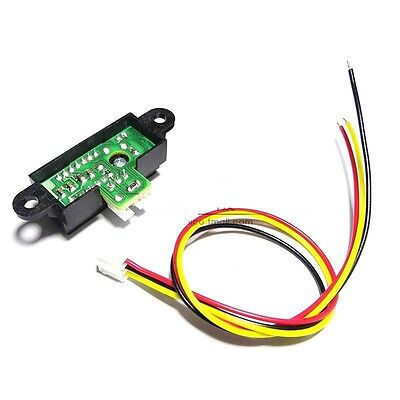 1pcs Gp2y0a41sk0f Sharp Ir Infrared Range Sensor Module Cable New