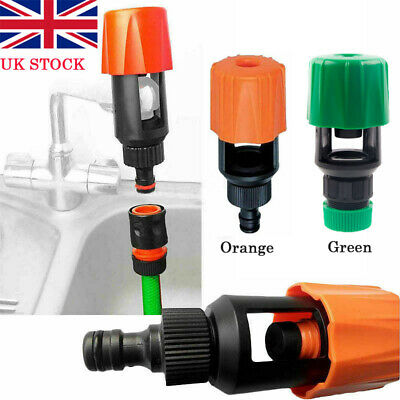 Kitchen Mixer Tap To Garden Hose Pipe Connector Adapter Indoor Outdoor Universal